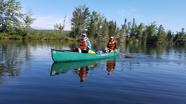 Orientation 2018: Canoeing Lake Umbagog - North