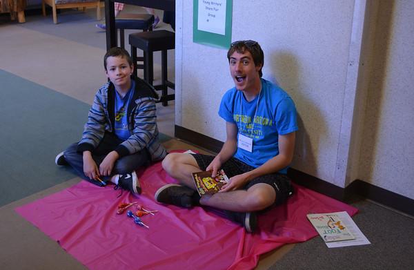 Young Writer Share Fair at WJMS