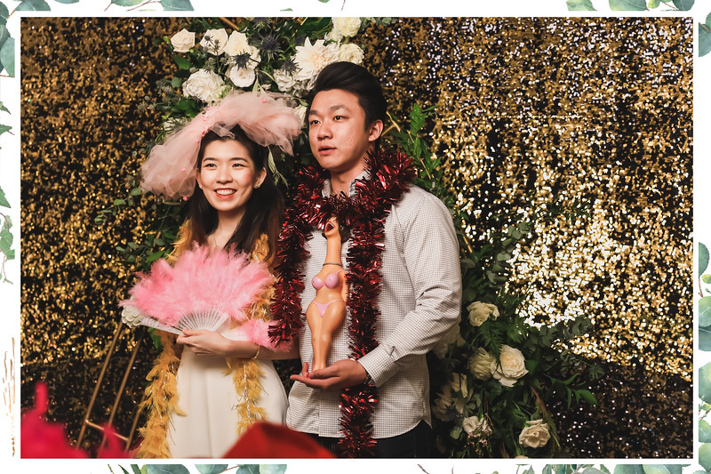 Wedding of Kelvin & Karen | © www.SRSLYPhotobooth.sg