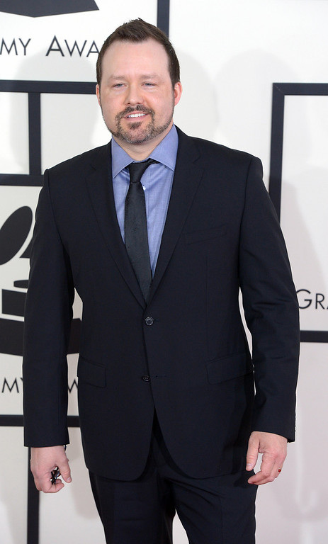 . Deric Ruttan arrives at the 56th Annual GRAMMY Awards at Staples Center in Los Angeles, California on Sunday January 26, 2014 (Photo by David Crane / Los Angeles Daily News)