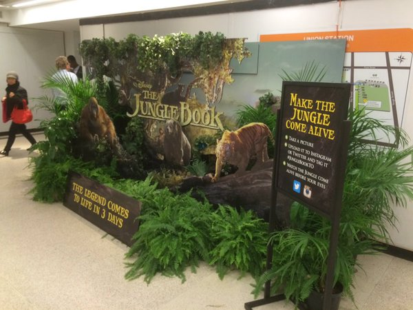 Disney Jungle Book Display