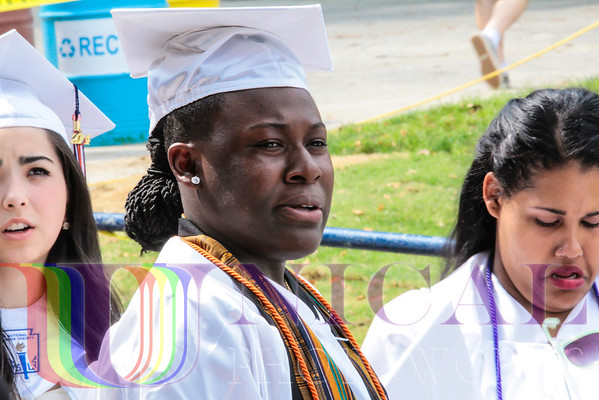 Reservoir HS Commencement 2014, Tuesday, May 27, 2014 at 4:00PM, Merriweather Post Pavilion, Columbia, MD - Zelor Carolyn Massaquoi