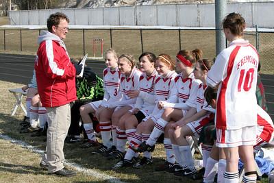 Girls JV Soccer - 3/26/2008 Hart