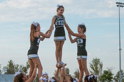 09-10-15 Mesa Cheer Football vs Katella