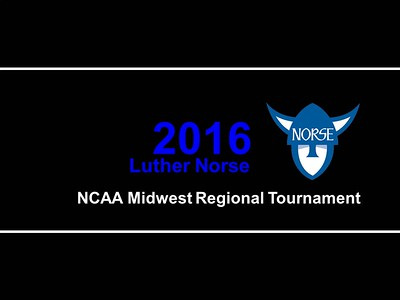 20160518 Midwest Regional Luther vs North Central