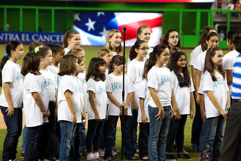 The Children's Choir at Marlins Park