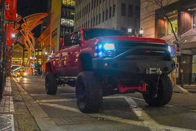 Night Truck Shots