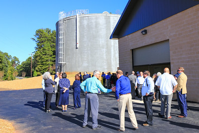 "2015 Oct - ""Turn the Valve"" - Concord, Kannapolis, Albemarle Water Transmission Line Ceremony"