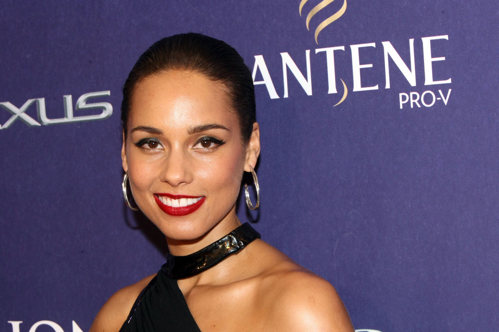 Description of . Alicia Keys attends BET Honors 2013: Red Carpet Presented By Pantene at Warner Theatre on January 12, 2013 in Washington, DC.  (Photo by Bennett Raglin/Getty Images for BET)