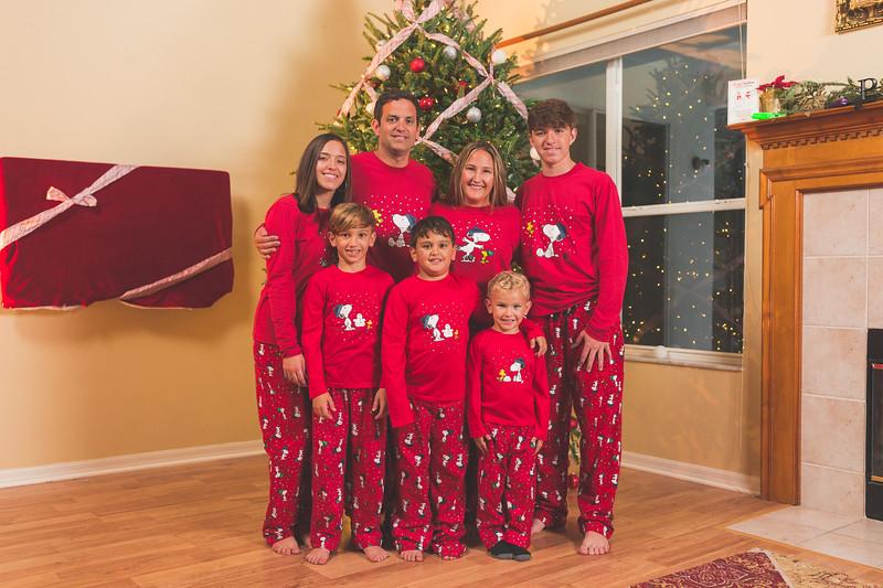 Lima Family Christmas 2018