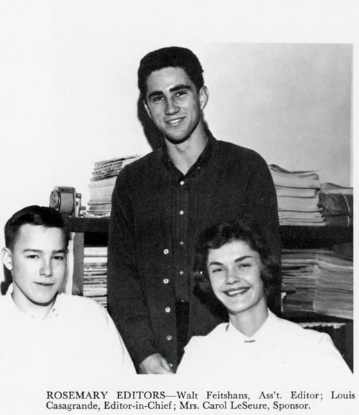 Rosemary Editors, Walt Feitshans, Louis Casagrande
