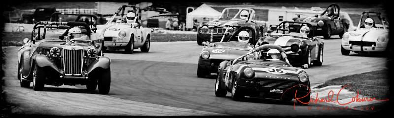 Triumph vs MG Showdown