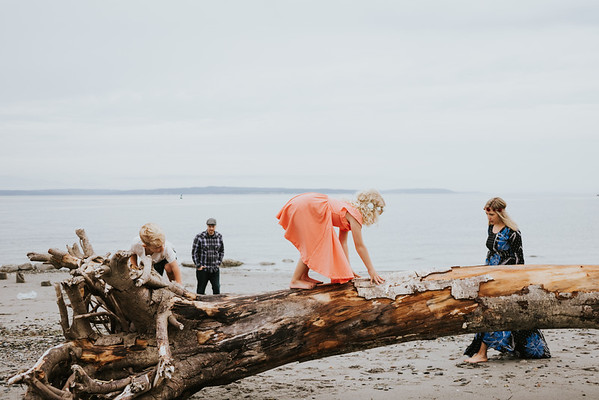 Rubert Family, Golden Gardens Beach Session