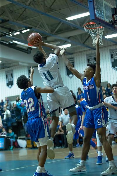 20190222 Varsity Boys Basketball Sherwood at Blake
