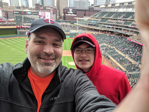 2019 May - Twins Game