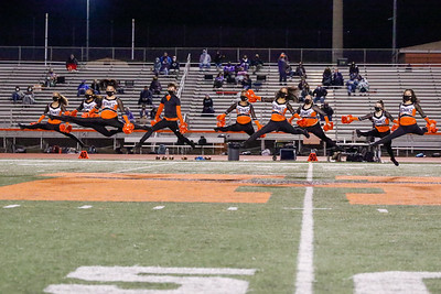 Dance Team at Chantilly Football Game 3/12/21