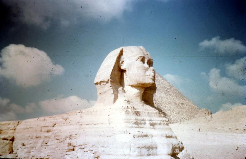 1958-12 (7) Sphinx @ Cairo.JPG