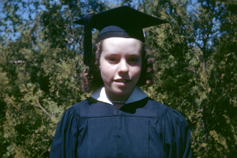 Dorothy's high school graduation day