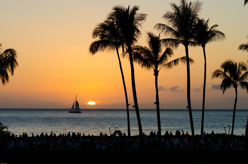 Sunset Luau at Sheraton Resort Maui