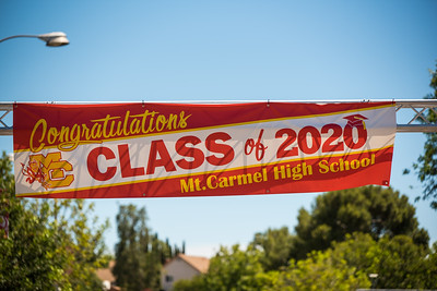 Mt Carmel Graduation 2020