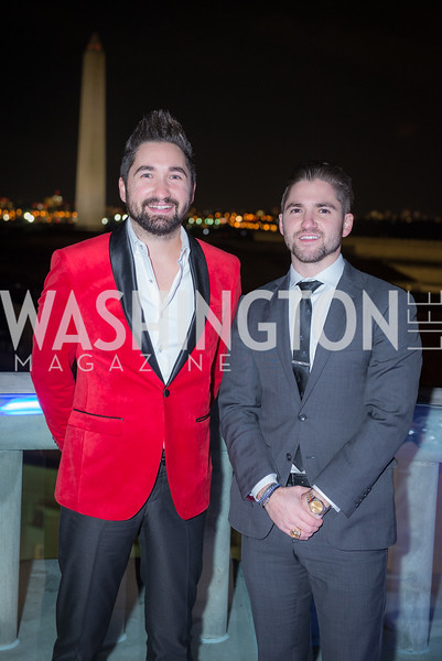 Jason Zuccari, Jarred Zuccari, Capitol Seniors Housing, 15th Anniversary Party.  November 8, 2018. Photo by Ben Droz.