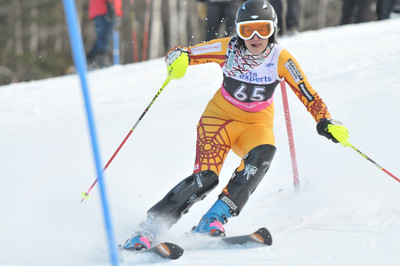 2012 - Feb 4th PM - FIS St-Sauveur Slalom - Women