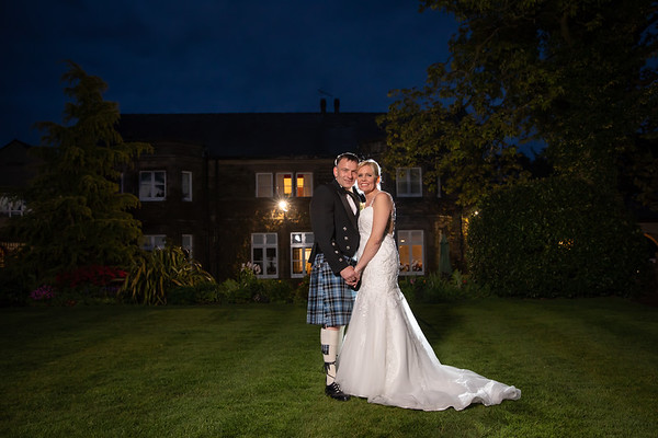 Michaela and Ally at Ferraris Country House Hotel, Longridge