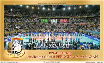 «Sir Sicoma Colussi PERUGIA - Zenit KAZAN» Final 1st/2nd place #CLF4Rome
