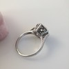 .82ct Old European Cut Diamond Art Deco Solitaire GIA M VS1 11