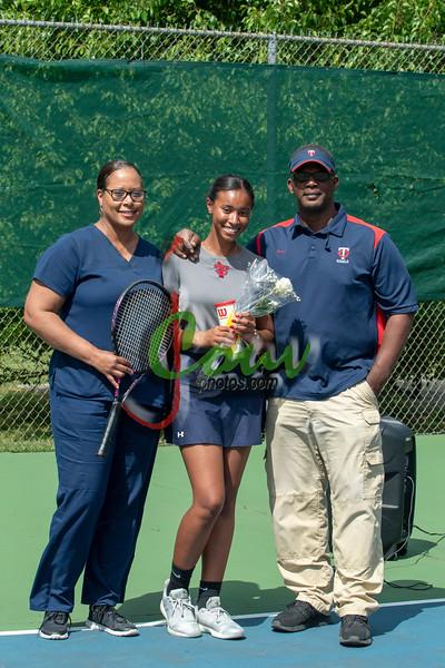 2019 TC vs WCA Tennis (Sr. Night)