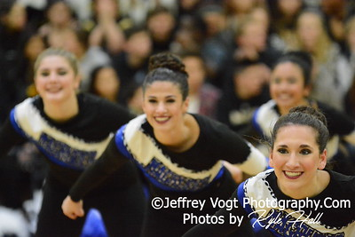 1-09-2016 Magruder HS Varsity Poms at Northwest HS, Photos by Jeffrey Vogt Photography with Kyle Hall