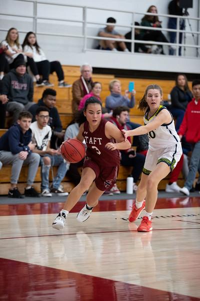 1/8/20: Girls' Varsity Basketball v Choate
