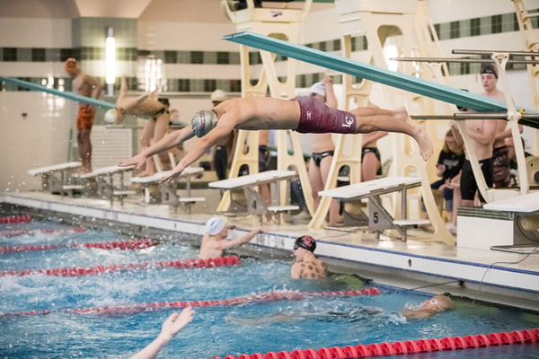 02-14-2019 Bears Boys Swimming Sectional