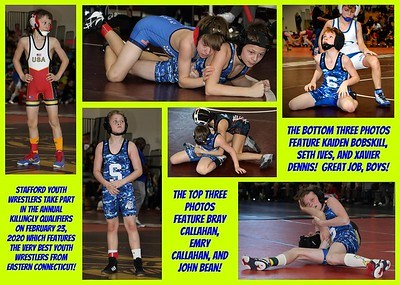 Stafford Youth Wrestling Collages (2013 - Present)