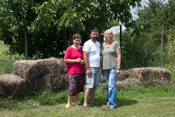 Meeting with Adina Daniela & Dan Mihai Petrea, at Bătinești, Vrancea, Romania - June, 2016
