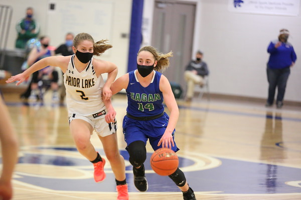 Varsity Basketball - Girls vs Prior Lake