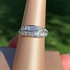 1.00ctw Vintage Double Row Baguette and Diamond Band 5