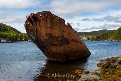 S.S. Charcot shipwreck