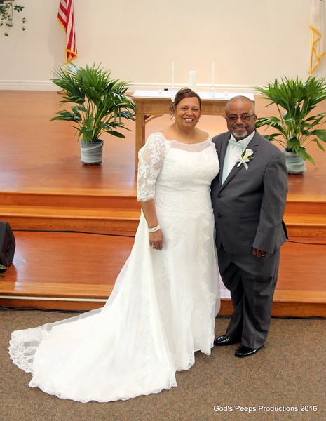 Eugene & Shirley Fossett Wedding 2016