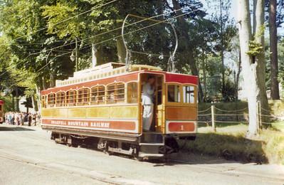 Snaefell Mountain Railway Summer 1977