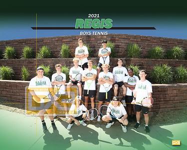 Regis boys tennis BT21