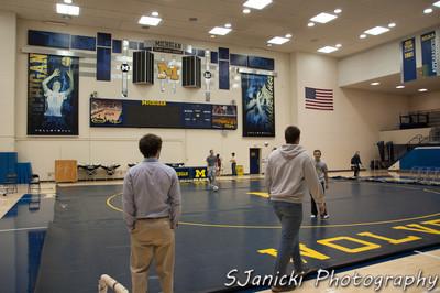 Michigan Wrestling Club Vs UM Dearborn 11-13-11