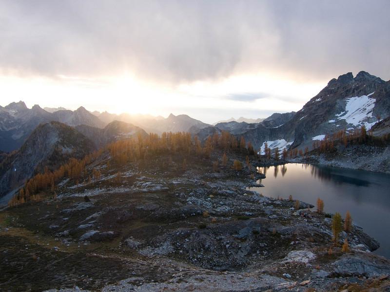 Sunrise over Wing Lake
