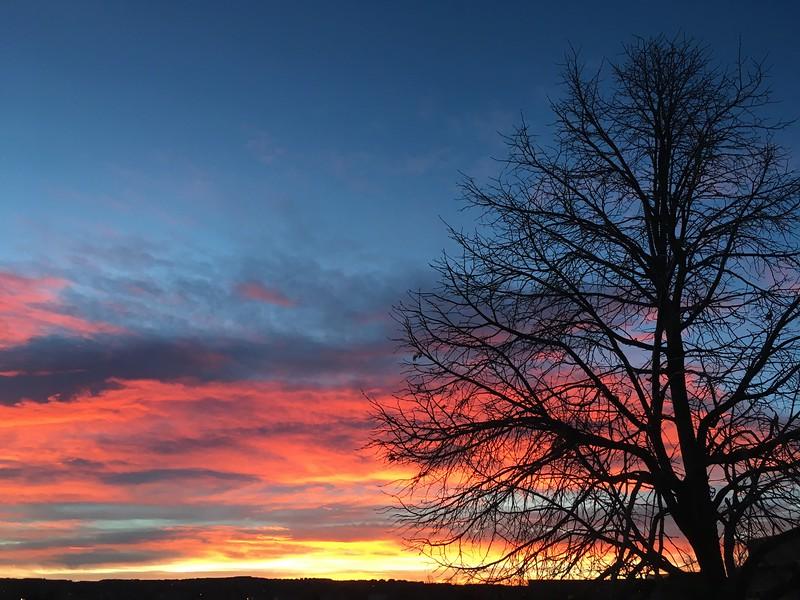 Sunrise on February 11