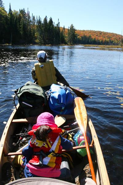 2013-Sept: Canoe-trip (Tim Lake)