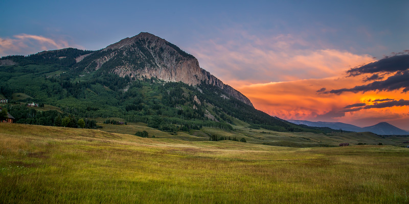 Mount Crested Butte 2x1