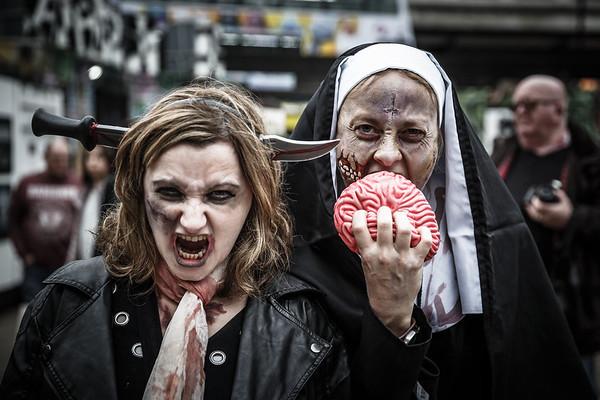zombie walk   bristol   oct 2016