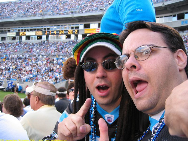 Panthers vs. Falcons September 28th 2003