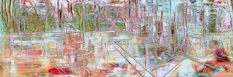 Riverview Hotel-Abstract No.2