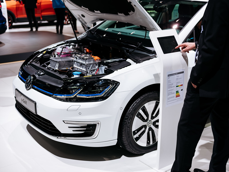 The Volkswagen E-Golf - Samuel Zeller for the New York Times